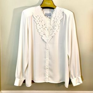 Kathy Che collared blouse
